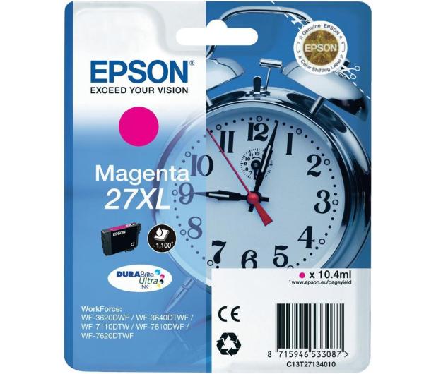 Epson T2713 magenta 27XL 1100str. (C13T27134010)  - 247827 - zdjęcie