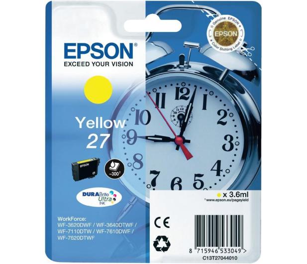 Epson T2704 yellow 27 300str. (C13T27044010)  - 247835 - zdjęcie