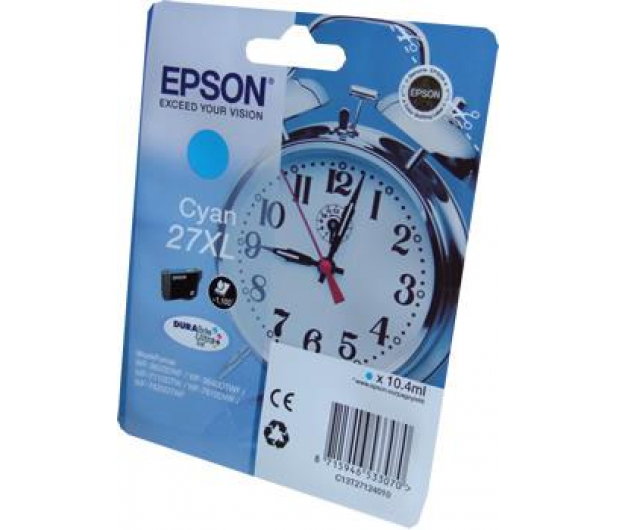 Epson T2712 cyan 27XL 1100str. (C13T2712401)  - 247830 - zdjęcie 2