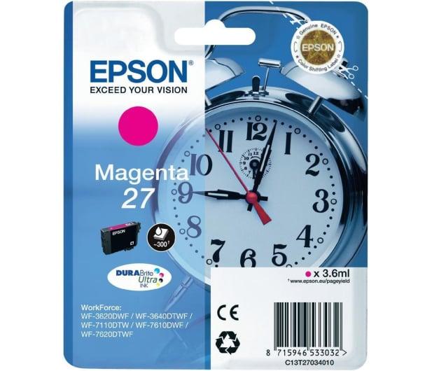 Epson T2703 magenta 27 300str. (C13T27034010)  - 247837 - zdjęcie