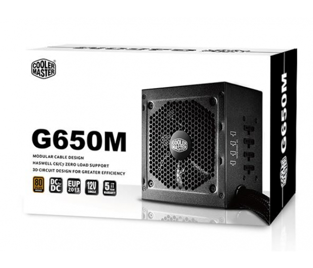 Cooler Master G650M 650W BOX - 175480 - zdjęcie 5