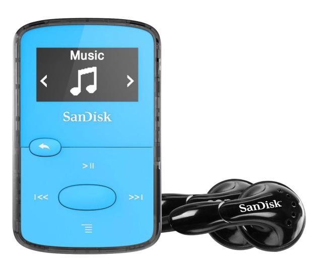 SanDisk Clip Jam 8GB niebieski - 251395 - zdjęcie 2