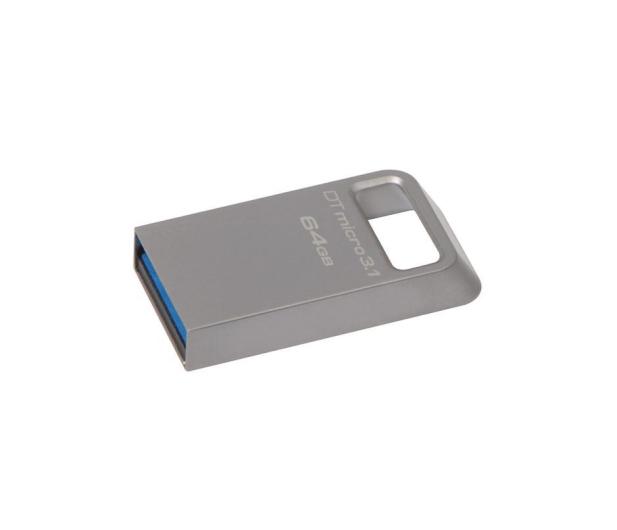 Kingston 64GB DataTraveler Micro 3.1 (USB 3.1) 100MB/s - 247151 - zdjęcie 2