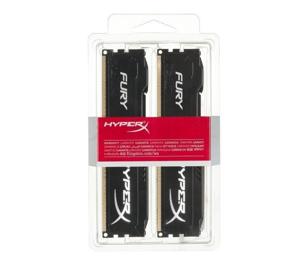 HyperX 16GB (2x8GB) 1600MHz CL10 Fury Black - 180491 - zdjęcie 2