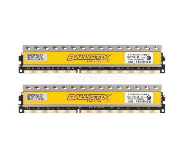 Crucial 16GB 1600MHz Ballistix CL8 (2x8192) - 224724 - zdjęcie