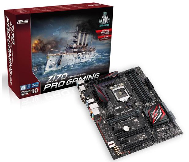 ASUS Z170 PRO GAMING (3xPCI-E DDR4) - 252941 - zdjęcie