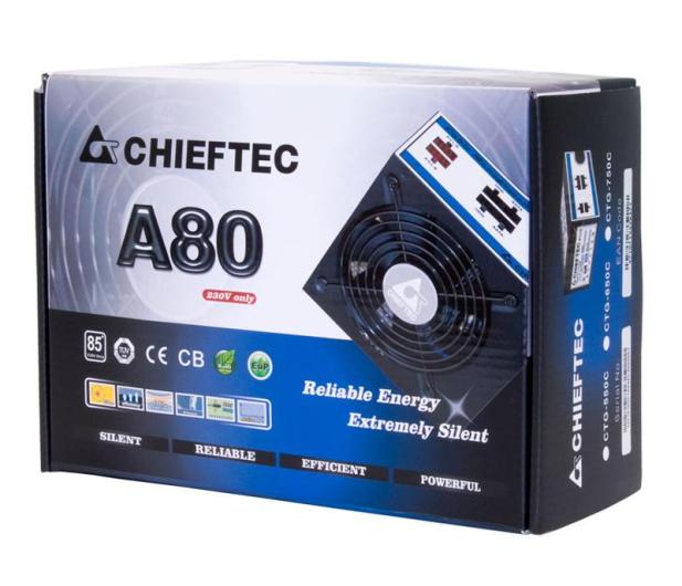 Chieftec A80 550W 85 Plus - 81117 - zdjęcie 4