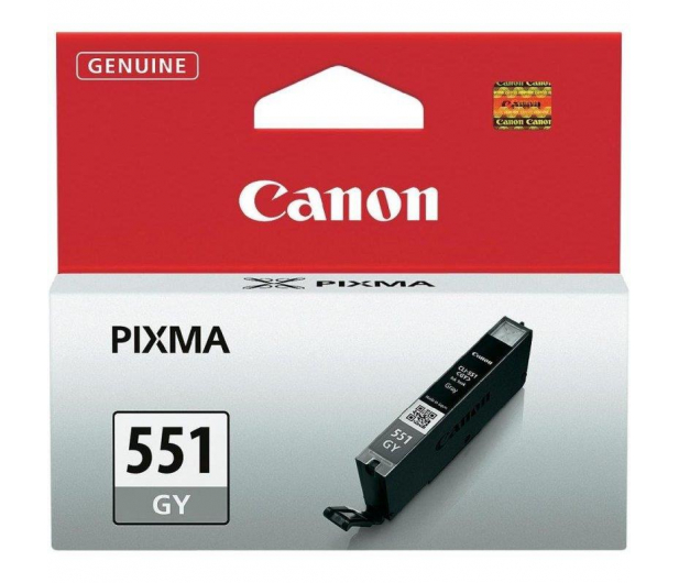Canon CLI-551GY grey 125str. ( 6512B001 ) - 207596 - zdjęcie