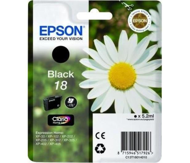 Epson T1801 black 5,2ml - 121867 - zdjęcie