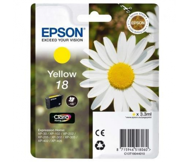 Epson T1804 yellow 3,3ml - 150476 - zdjęcie