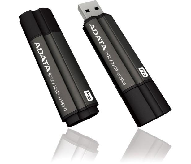 ADATA 32GB DashDrive Elite S102 Pro szary (USB 3.0) - 255416 - zdjęcie