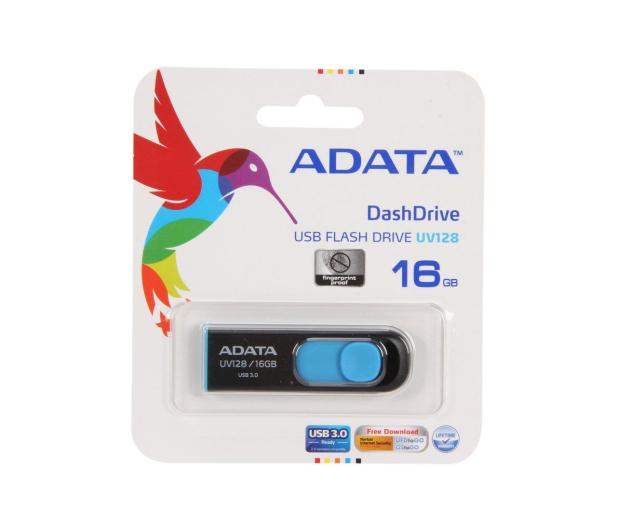 ADATA 16GB DashDrive UV128 czarno-niebieski (USB 3.1) - 255417 - zdjęcie 6