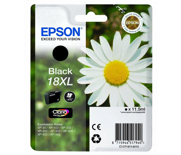 Epson T18XL black 11,5ml - 150475 - zdjęcie