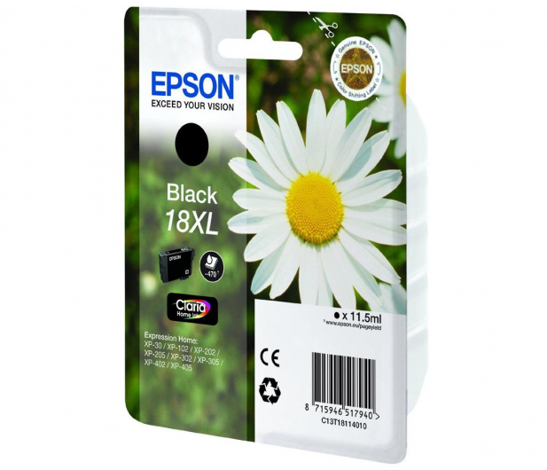Epson T18XL black 11,5ml - 150475 - zdjęcie 2