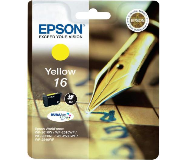 Epson T16 yellow 3.1ml (C13T16244010) - 121862 - zdjęcie