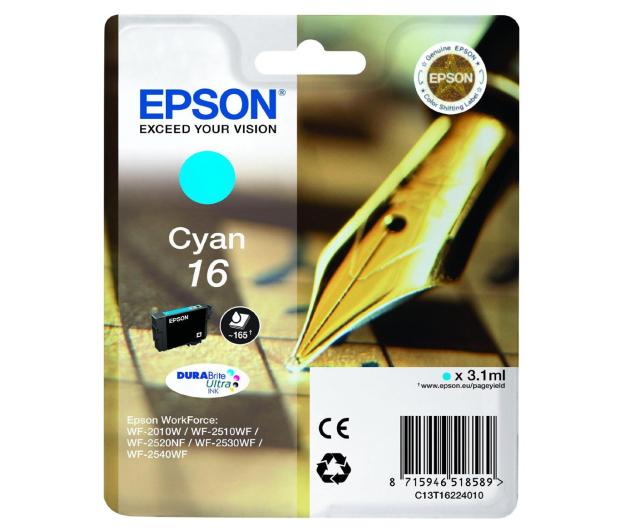 Epson T16 cyan 3.1ml (C13T16224010) - 121860 - zdjęcie