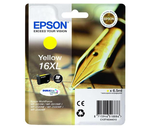 Epson T16XL yellow 6.5ml (C13T16344010) - 121866 - zdjęcie
