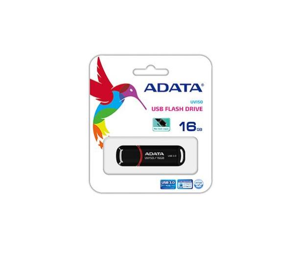 ADATA 16GB DashDrive UV150 czarny (USB 3.1) - 255423 - zdjęcie 4