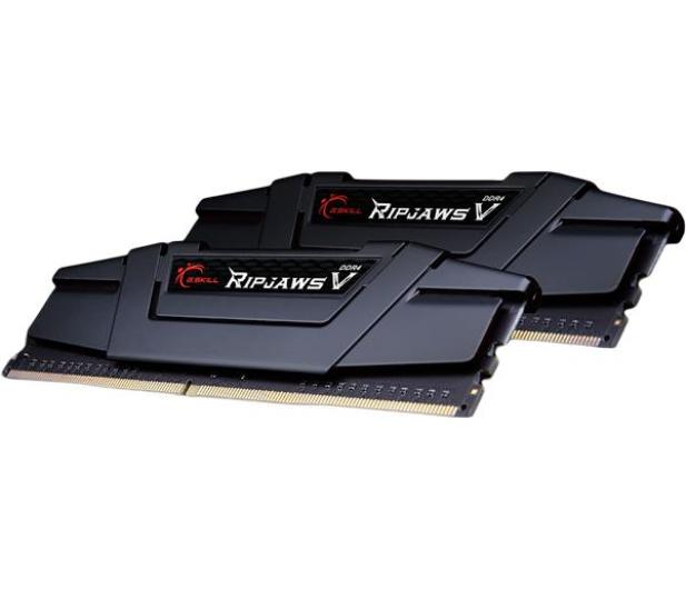 G.SKILL 8GB 3200MHz Ripjaws V Black CL16 (2x4GB) - 251187 - zdjęcie