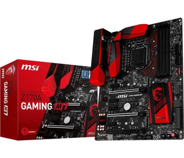 MSI Z170A GAMING M7 (Z170 3xPCI-E DDR4) - 252359 - zdjęcie