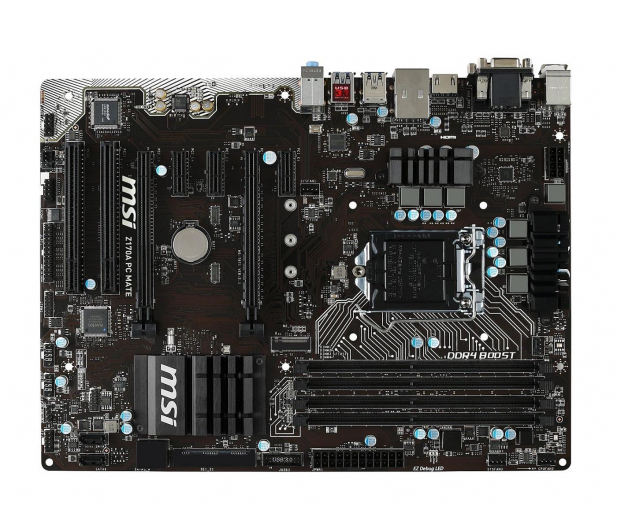 MSI Z170A PC MATE (2xPCI-E DDR4) - 252361 - zdjęcie 3