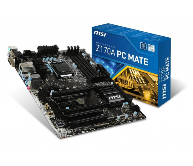 MSI Z170A PC MATE (2xPCI-E DDR4) - 252361 - zdjęcie