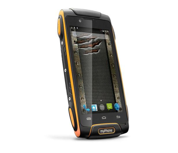 myPhone Hammer AXE LTE pomarańczowy - 253217 - zdjęcie