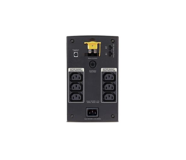 APC Back-UPS (1400VA/700W, 6xIEC, AVR) - 255459 - zdjęcie 2