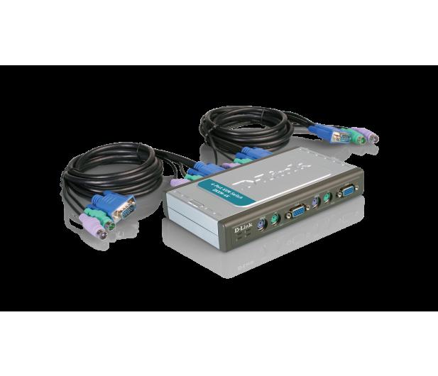 D-Link DKVM-4K PS/2 + VGA (4 komputery) 1,8m  - 29818 - zdjęcie 2
