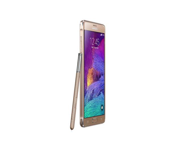 Samsung Galaxy Note 4 N910C złoty - 209610 - zdjęcie 4