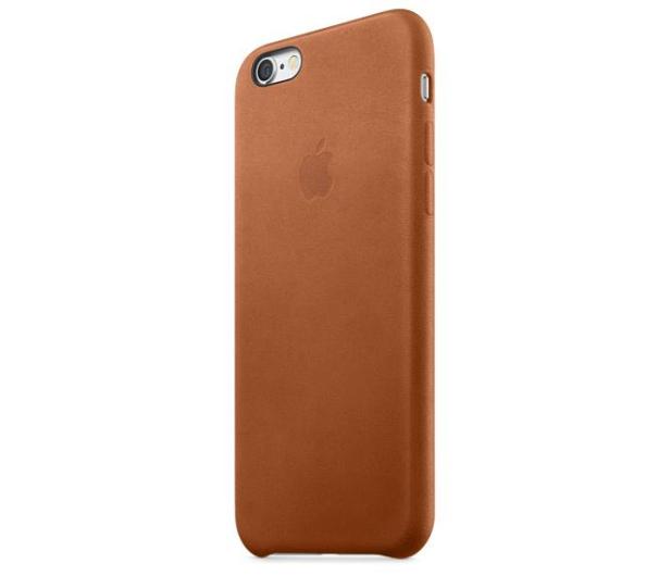 Apple iPhone 6s Leather Case jasny brązowy - 259178 - zdjęcie 3