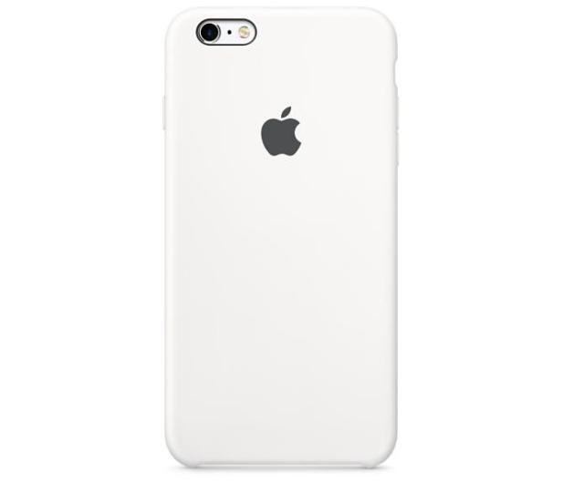 Apple Silicone Case do iPhone 6s biały - 259188 - zdjęcie 2