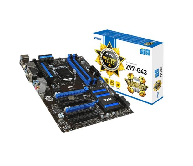 MSI Z97-G43 (Z97 2xPCI-E DDR3) - 186135 - zdjęcie