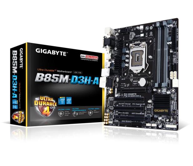 Gigabyte GA-B85M-D3H-A (B85 2xPCI-E DDR3) - 255402 - zdjęcie