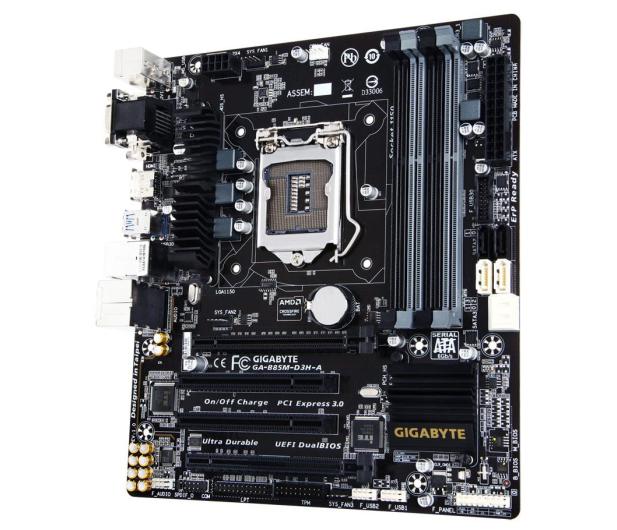 Gigabyte GA-B85M-D3H-A (B85 2xPCI-E DDR3) - 255402 - zdjęcie 2