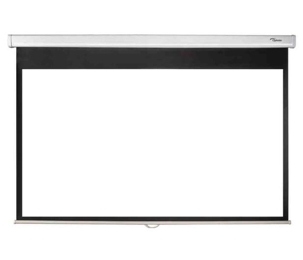 Optoma HD28e + Ekran ręczny 92' 203x114 16:9 Biały Matowy - 572341 - zdjęcie 7