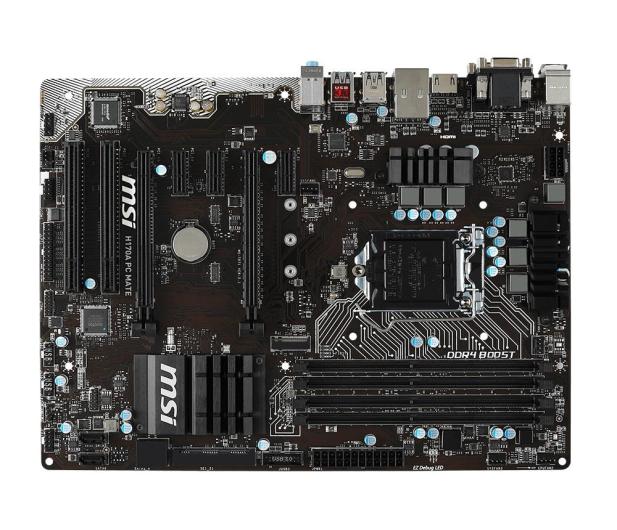 MSI H170A PC MATE (H170 2xPCI-E DDR4) - 260422 - zdjęcie 3
