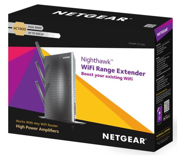 Netgear Nighthawk EX7000 (1900Mb/s a/b/g/n/ac) repeater - 259831 - zdjęcie 4
