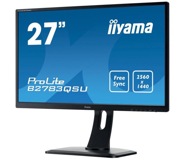 iiyama B2783QSU czarny - 261753 - zdjęcie 3
