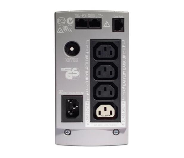 APC Back-UPS ES (500VA/300W, 4xIEC, RJ-45, USB) - 26763 - zdjęcie 2