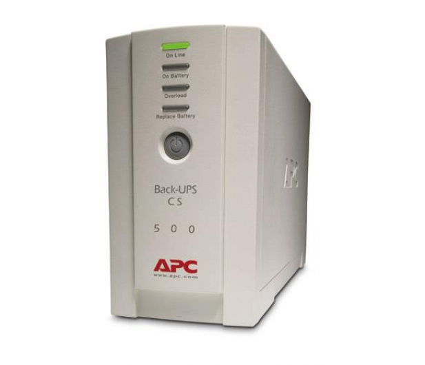 APC Back-UPS ES (500VA/300W, 4xIEC, RJ-45, USB) - 26763 - zdjęcie