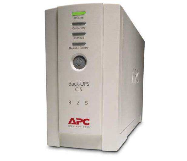 APC Back-UPS 325 (350VA/210W, 4xIEC) - 260369 - zdjęcie
