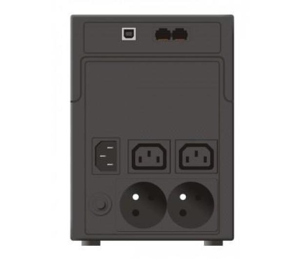 Ever EASYLINE 1200 (1200VA/600W, 2xIEC, 2xFR, AVR, USB) - 261911 - zdjęcie