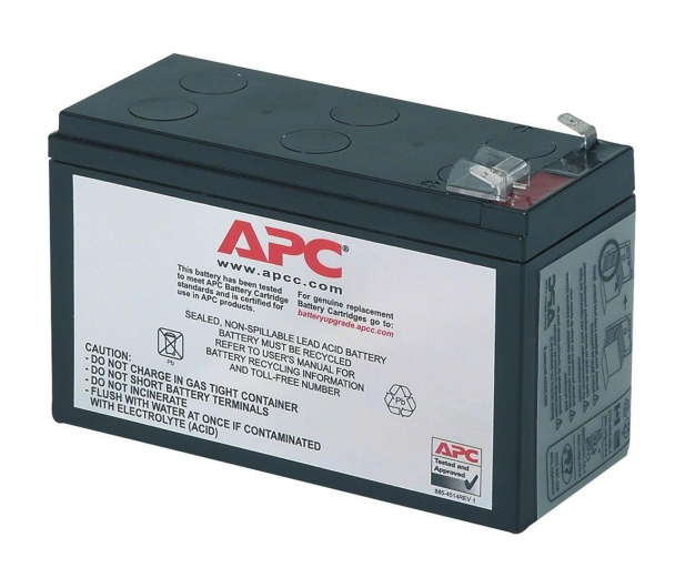 APC Zamienna kaseta akumulatora RBC17 - 260407 - zdjęcie