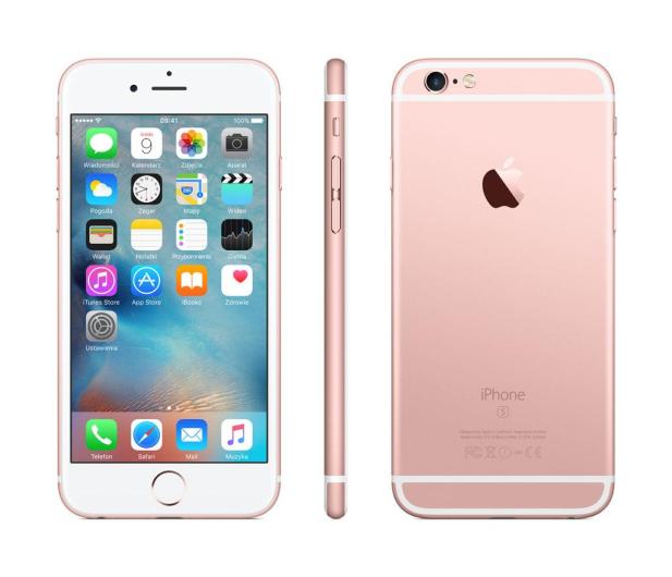 Apple iPhone 6s 32GB Rose Gold - 324904 - zdjęcie 2
