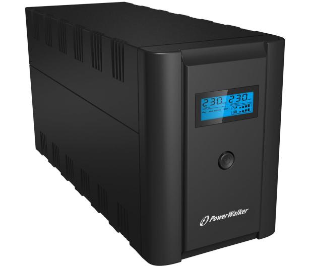 Power Walker LINE-INTERACTIVE (1200VA/600W, 2xPL/IEC, AVR, LCD) - 253675 - zdjęcie 3