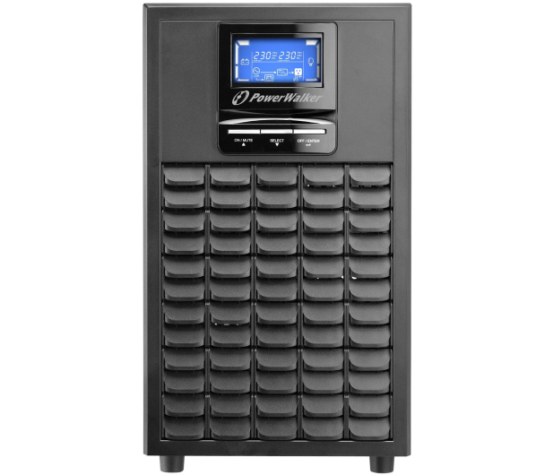 Power Walker ON-LINE (3000VA/2400W, 4xIEC, USB, LCD, AVR) - 253694 - zdjęcie 2
