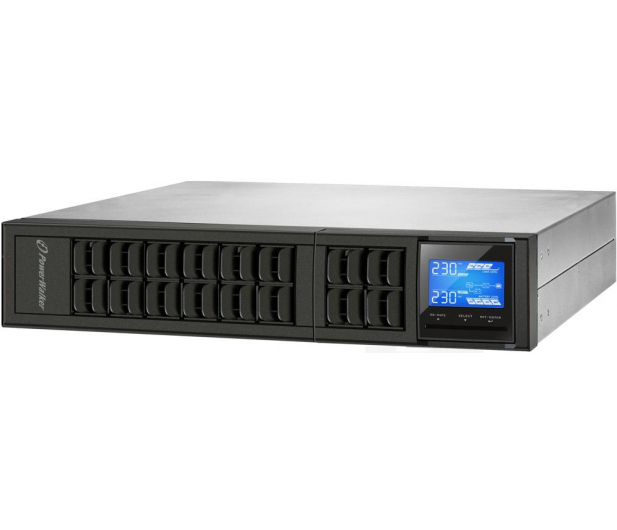 Power Walker ON-LINE (2000VA/1600W, 4xIEC, USB, LCD, RACK) - 253723 - zdjęcie 4