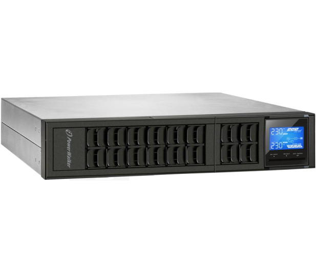 Power Walker ON-LINE (2000VA/1600W, 4xIEC, USB, LCD, RACK) - 253723 - zdjęcie 6