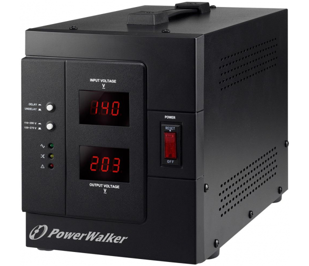 Power Walker STABILIZATOR NAPIĘCIA (3000VA/2400W, Schuko, AVR) - 253709 - zdjęcie